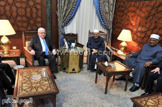 فؤاد معصوم العراق احمد الطيب الازهر (3)