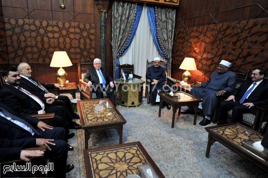 فؤاد معصوم العراق احمد الطيب الازهر (6)
