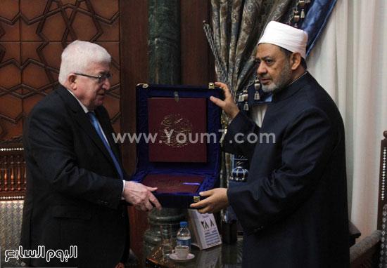 فؤاد معصوم العراق احمد الطيب الازهر (10)