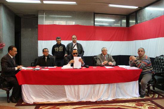 أعضاء محكمة المنصورة  (1)