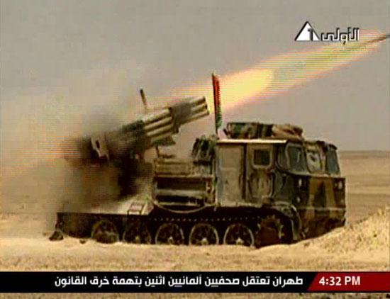 راجمة صواريخ مصرية من طراز صقر -اليوم السابع -4 -2015