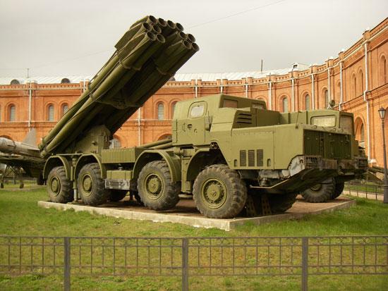 راجمة الصواريخ الأفضل فى العالم الروسية