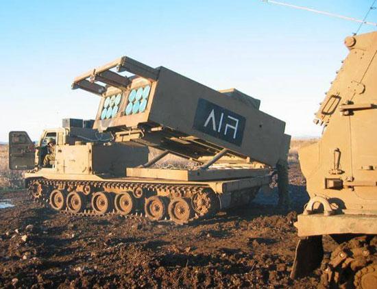 راجمة صواريخ الأمريكية MRLS وتخدم فى مصر -اليوم السابع -4 -2015