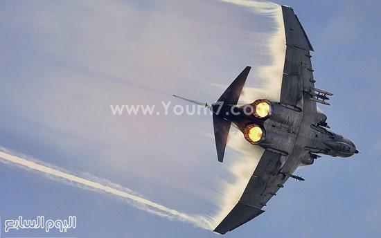 طائرة حربية  -اليوم السابع -4 -2015