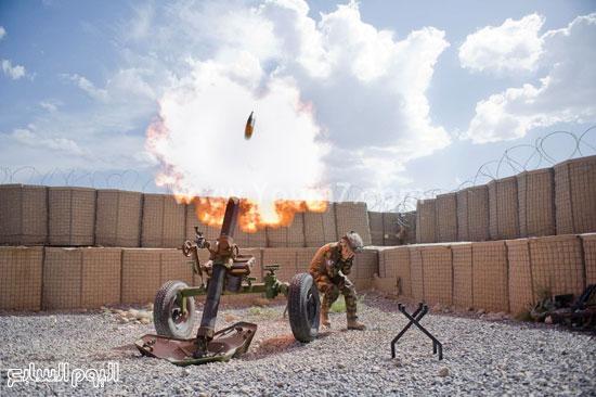 مدفع يطلق قذيفة  -اليوم السابع -4 -2015