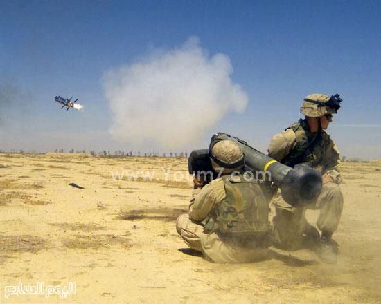 مدفع محمول على الكتف  -اليوم السابع -4 -2015