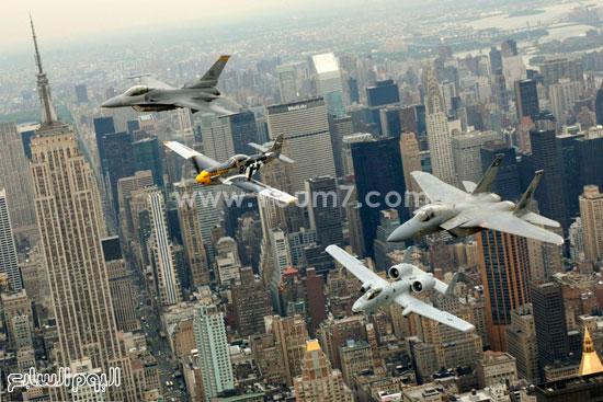 مجموعة متنوعة من الطائرات الحربية  -اليوم السابع -4 -2015