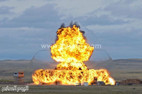 تدمير إحدى المنشآت  -اليوم السابع -4 -2015