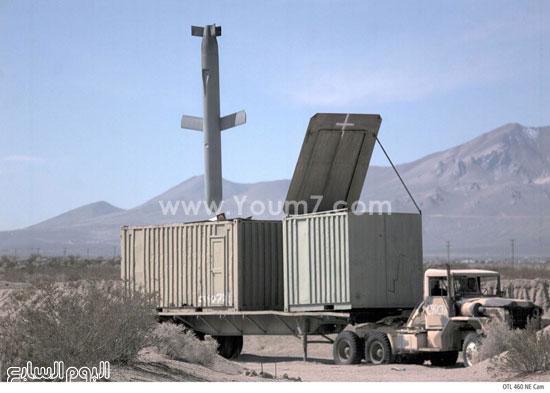 صاروخ يسقط على أحد العربات المدرعة  -اليوم السابع -4 -2015