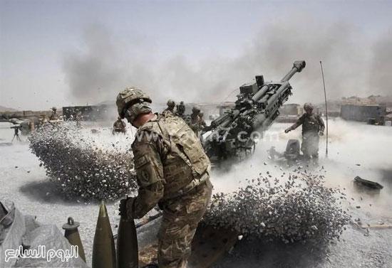 إطلاق قذائف من مدفع هاون  -اليوم السابع -4 -2015