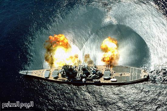 سفينة حربية  -اليوم السابع -4 -2015