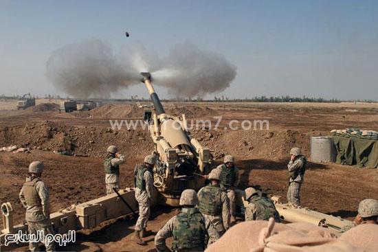 إطلاق قذيفة  -اليوم السابع -4 -2015