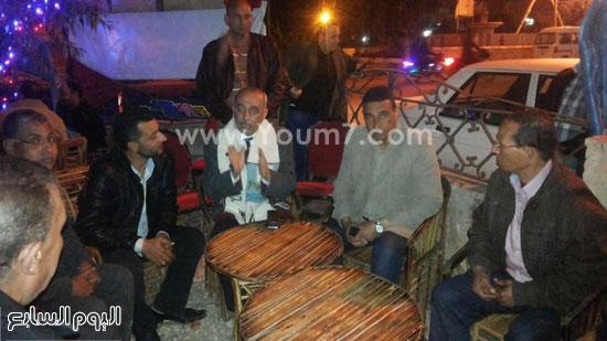 المحافظ يشرح للشباب مزايا مدينة فوه -اليوم السابع -4 -2015