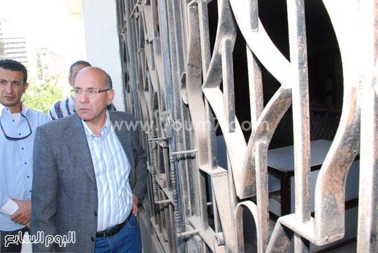 وزير الزراعة وجد المتحف مغلقا فى شم النسيم -اليوم السابع -4 -2015