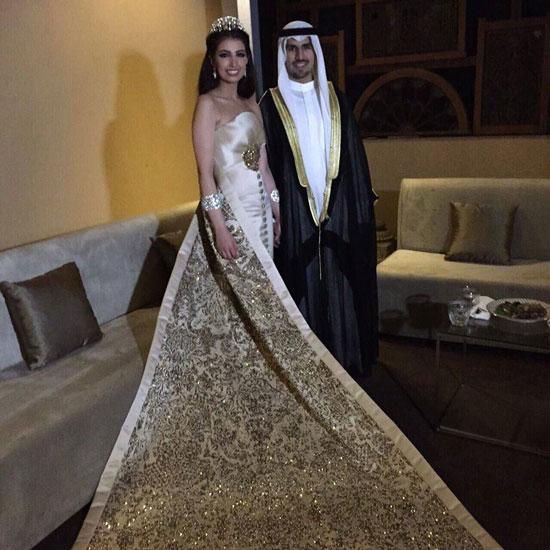 العروس وزوجها -اليوم السابع -4 -2015