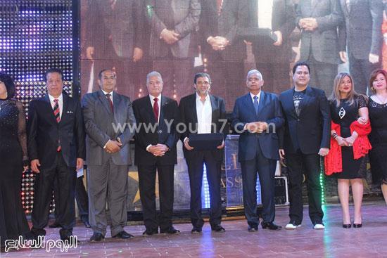 تكريم المخرج خالد يوسف -اليوم السابع -4 -2015