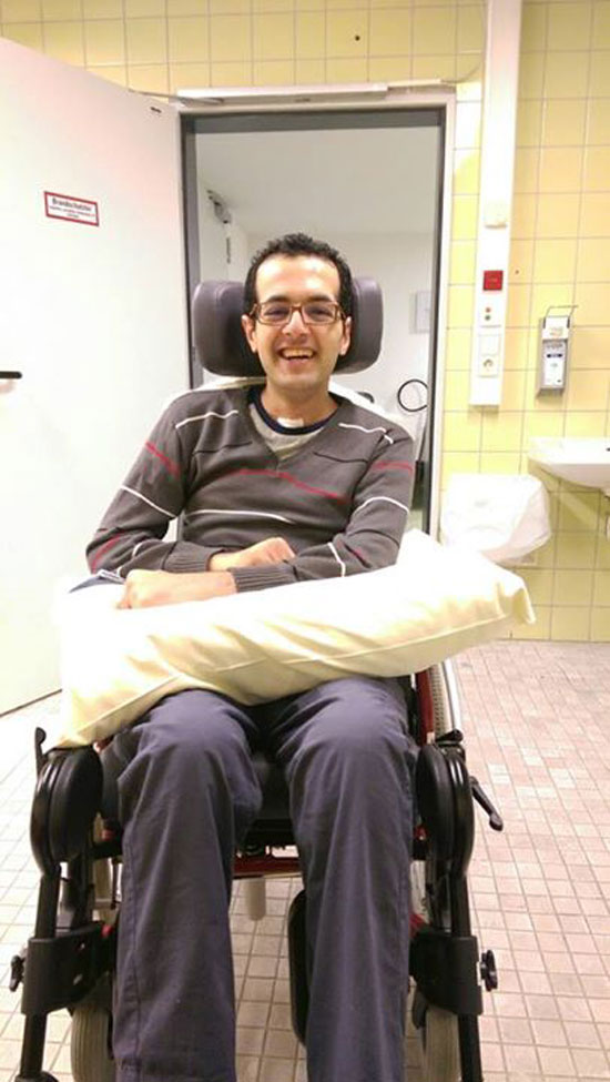 أحمد بعد الإفاقة مباشرة -اليوم السابع -4 -2015