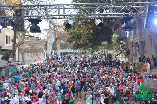 حضور كبير لحفل أندلسية بعيد اليتيم -اليوم السابع -4 -2015