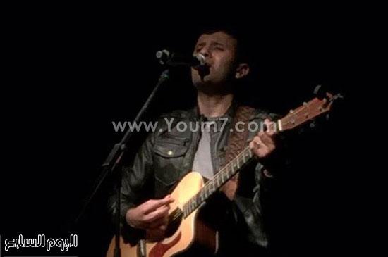 الفنان حمزة نمرة -اليوم السابع -4 -2015