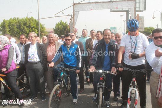 مهرجان الدراجات بالفيوم -اليوم السابع -4 -2015