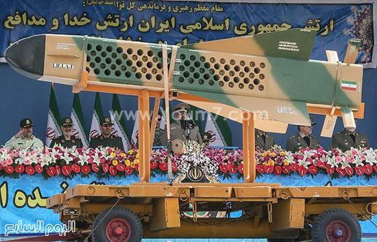 إيران تستعرض قدراتها العسكرية فى يوم الجيش  4201518144511