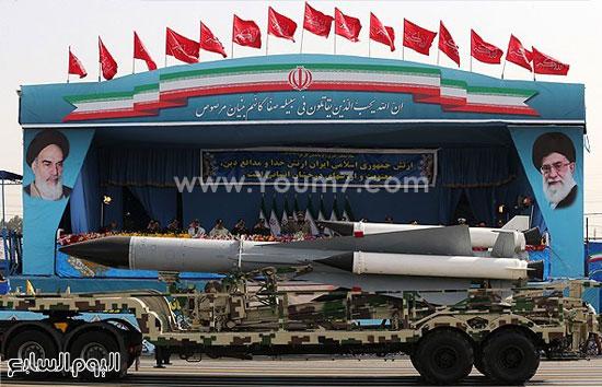 صاروخ إيرانى -اليوم السابع -4 -2015