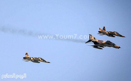 تزويد الطائرات الحربية بالوقود فى الجو -اليوم السابع -4 -2015