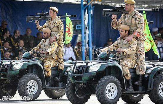 القوات الحربية الإيرانية -اليوم السابع -4 -2015