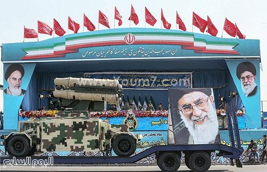 إيران تستعرض قدراتها العسكرية فى يوم الجيش  4201518144513