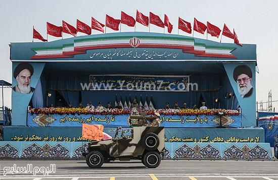 إيران تستعرض قدراتها العسكرية فى يوم الجيش  4201518144514
