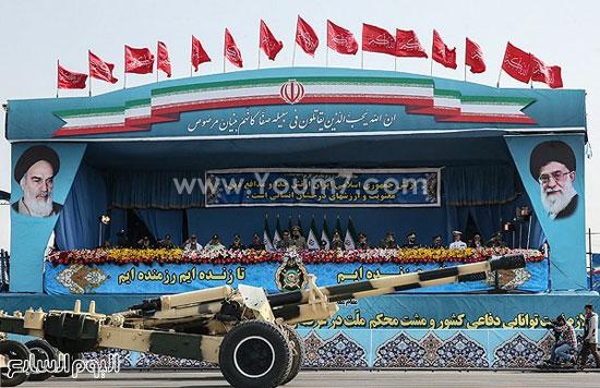إيران تستعرض قدراتها العسكرية فى يوم الجيش  4201518144515