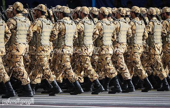 الجيش الإيرانى -اليوم السابع -4 -2015