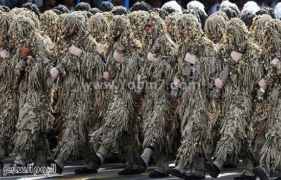 إيران تستعرض قدراتها العسكرية فى يوم الجيش  4201518144517