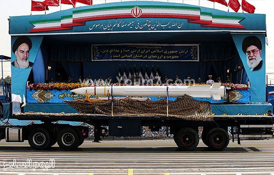 صاروخ شهاب الإيرانى -اليوم السابع -4 -2015