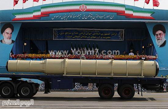 صاروخ إيرانى الصنع -اليوم السابع -4 -2015