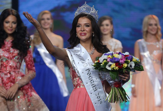 ملكة جمال روسيا  -اليوم السابع -4 -2015