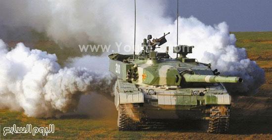 دبابة صينية -اليوم السابع -4 -2015