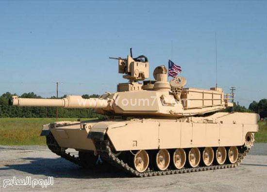 دبابة أبرامز أمريكية -اليوم السابع -4 -2015