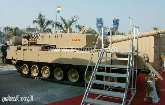 دبابة هندية -اليوم السابع -4 -2015