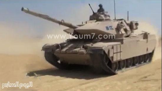 دبابة أم 60 مصرية محدثة -اليوم السابع -4 -2015