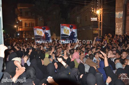 الآلاف يشاركون فى تظاهرة ضد الإرهاب -اليوم السابع -4 -2015