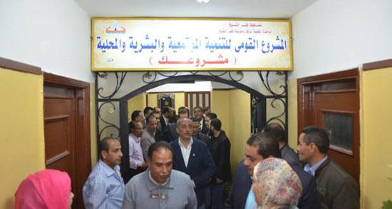 افتتاح مقر مشروعك بمدينة كفر الشيخ -اليوم السابع -4 -2015