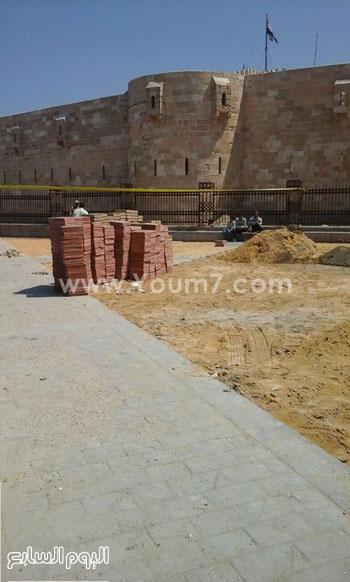 تطوير ممشى القلعة -اليوم السابع -4 -2015