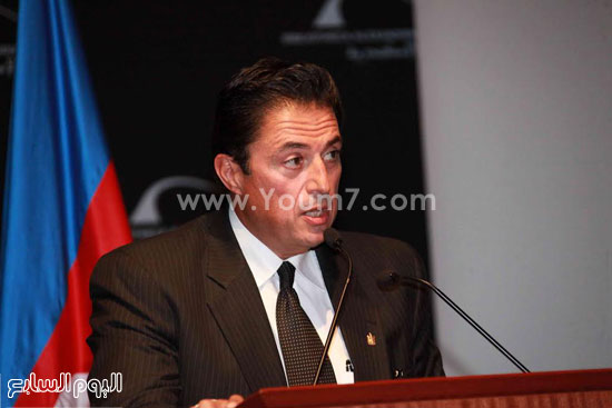 محافظ الاسكندرية خلال كلمتة -اليوم السابع -4 -2015