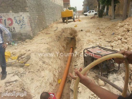 استكمال أعمال مشروع الغاز الطبيعى -اليوم السابع -4 -2015