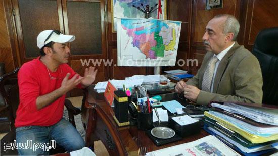محافظ كفر الشيخ وعلاء مرسى -اليوم السابع -4 -2015