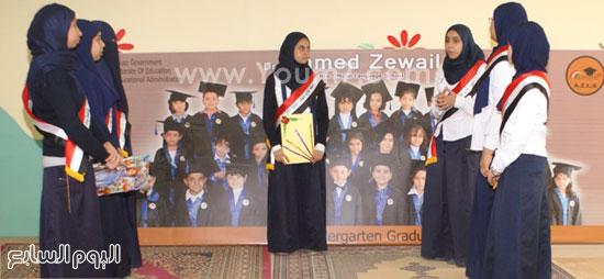 طالبات الصحافة المدرسية -اليوم السابع -4 -2015