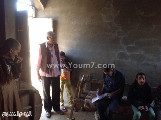 فريق الأورمان يصل الى القرية بتوجيهات الرئاسة -اليوم السابع -4 -2015