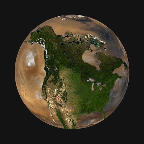 10 صور صادمة تبين الحجم الحقيقى لكوكب الأرض اليوم السابع