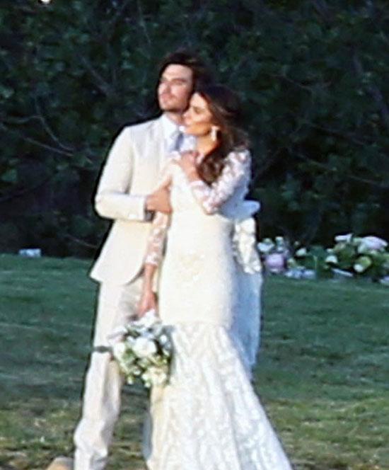 إيان سومرهالدر ونيكى ريد بالملابس البيضاء -اليوم السابع -4 -2015